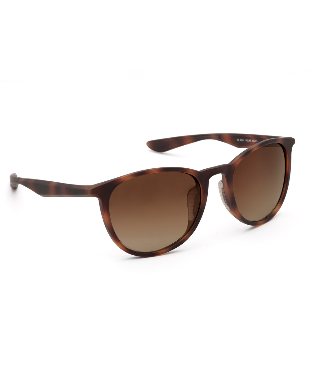 PERDIDO | Matte Bay Tortoise Polarized Hand-Painted, Bio-Plastic Sunglasses