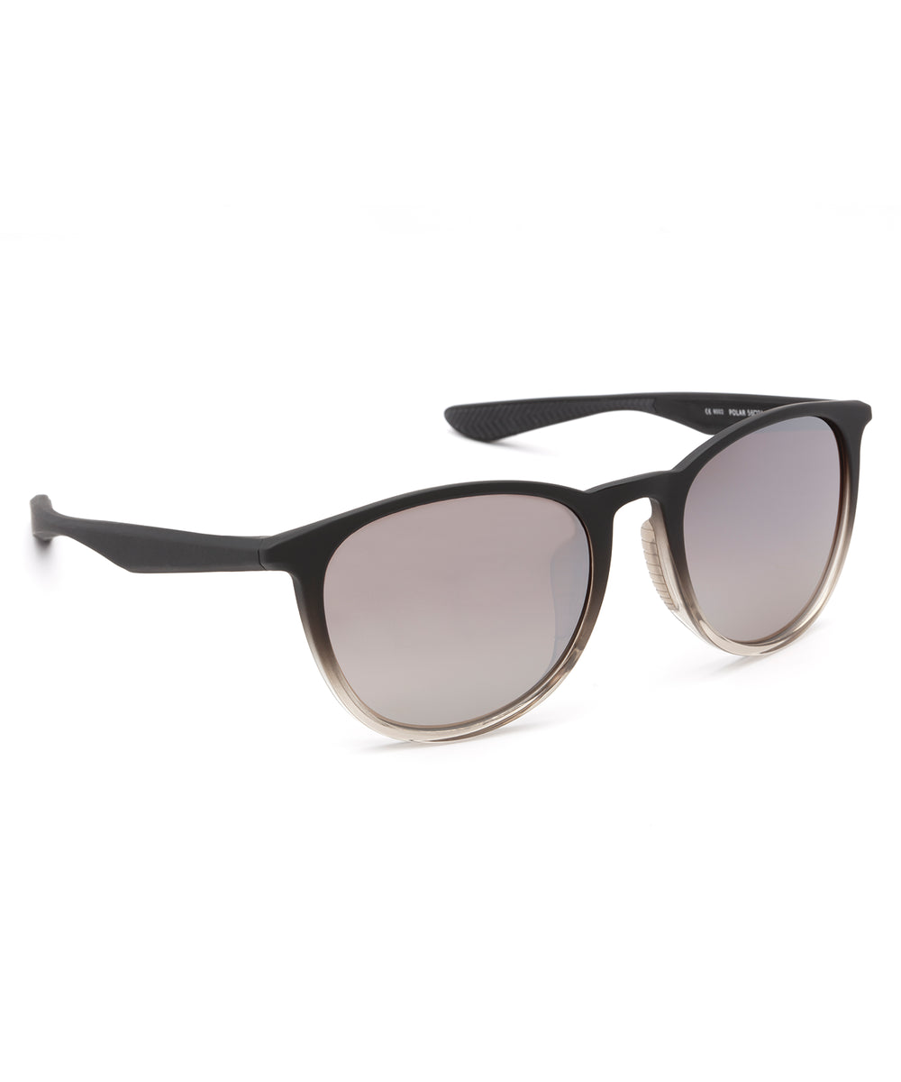 PERDIDO | Matte Black to Mist Mirror Polarized Hand-Painted, Bio-Plastic Sunglasses