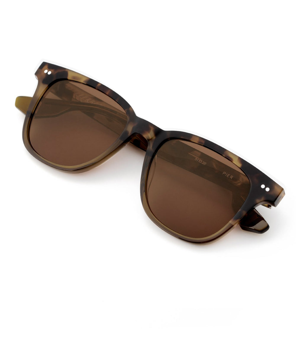 PIER | Fennel to Hazel Handcrafted, Acetate Sunglasses