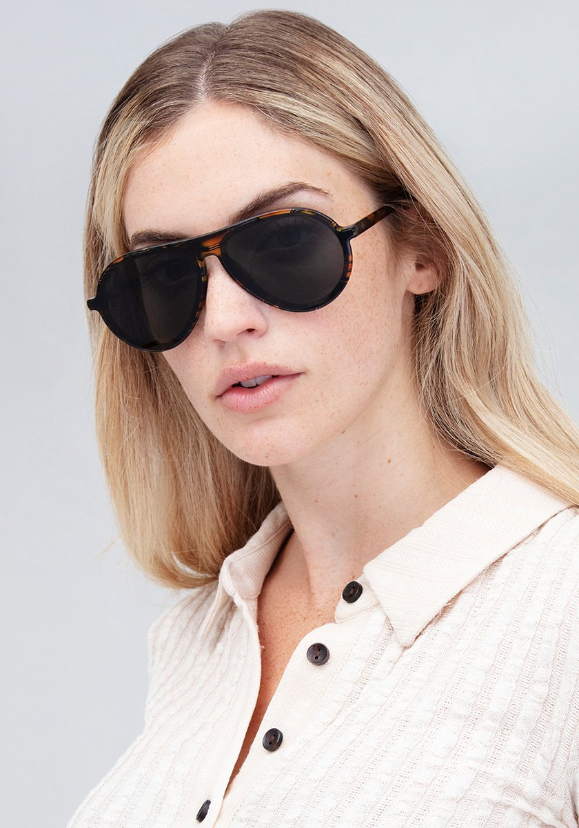 PONCE NYLON | Honey Handcrafted, Acetate Sunglasses | Featured Model