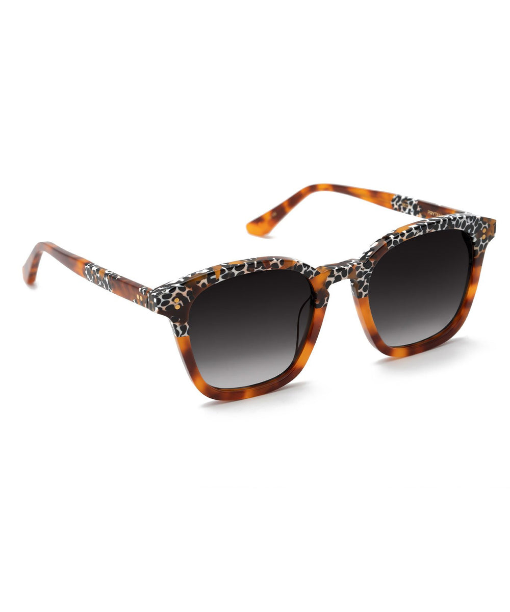 PRYTANIA | Memphis to Cognac Handcrafted, Acetate Sunglasses