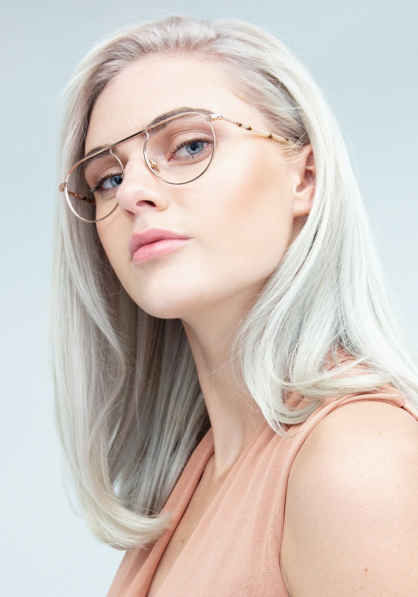RAMPART OPTICAL | Rose Gold Titanium + Oyster