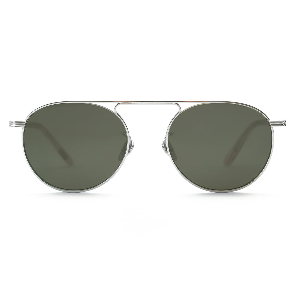 RAMPART | Titanium + Buff handcrafted acetate sunglasses
