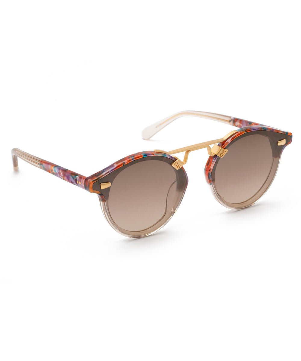 STL NYLON | Confetti to Buff Handcrafted, Acetate Sunglasses