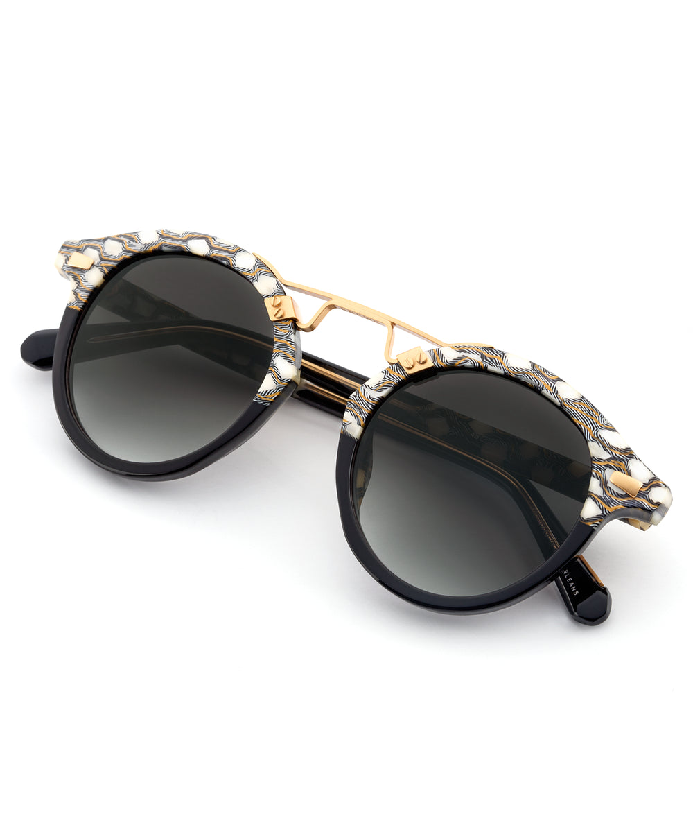STL II | Plume to Champagne Handcrafted, Acetate Sunglasses