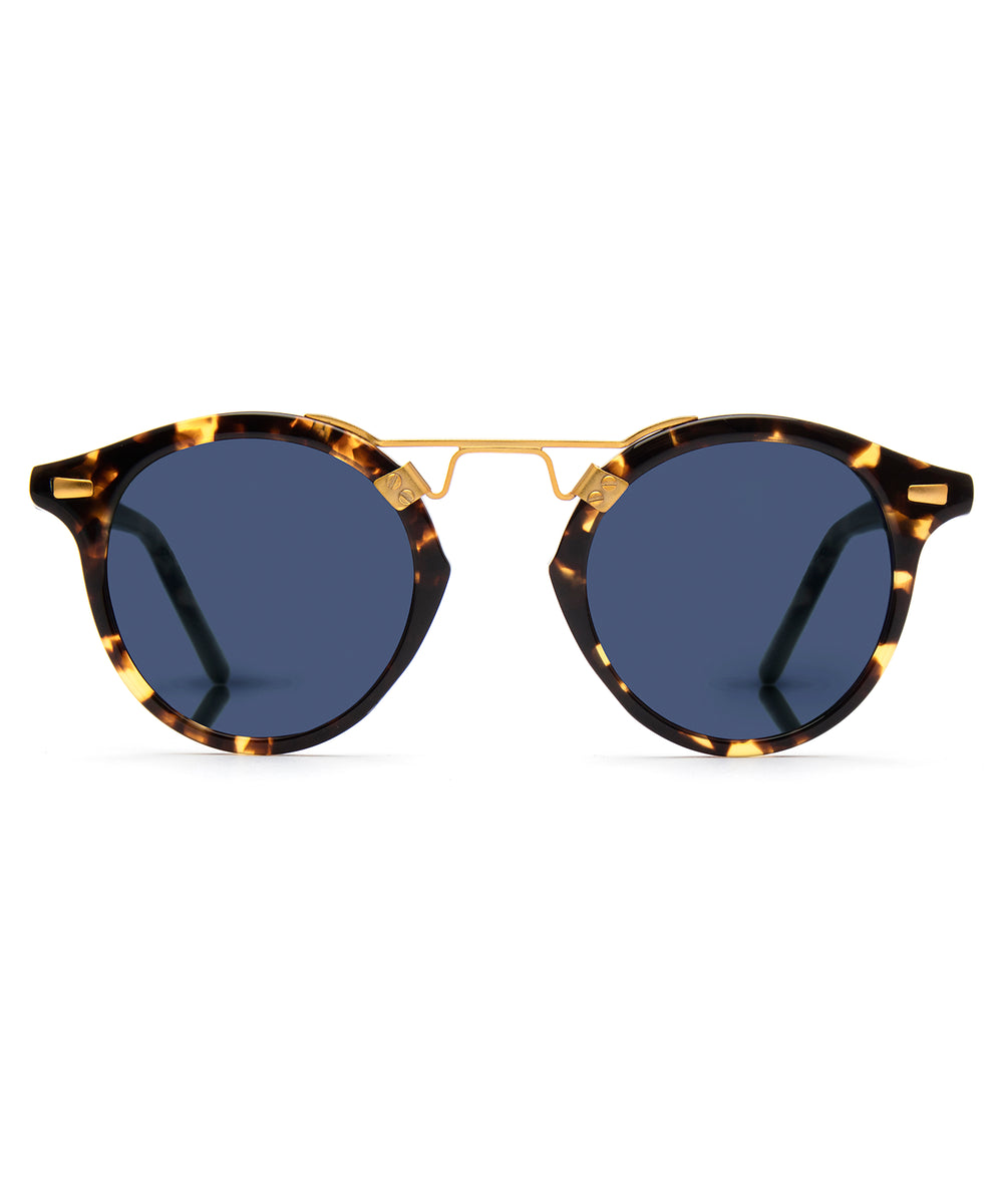 ST. LOUIS CLASSICS | Bengal Polarized 24K handcrafted acetate Sunglasses
