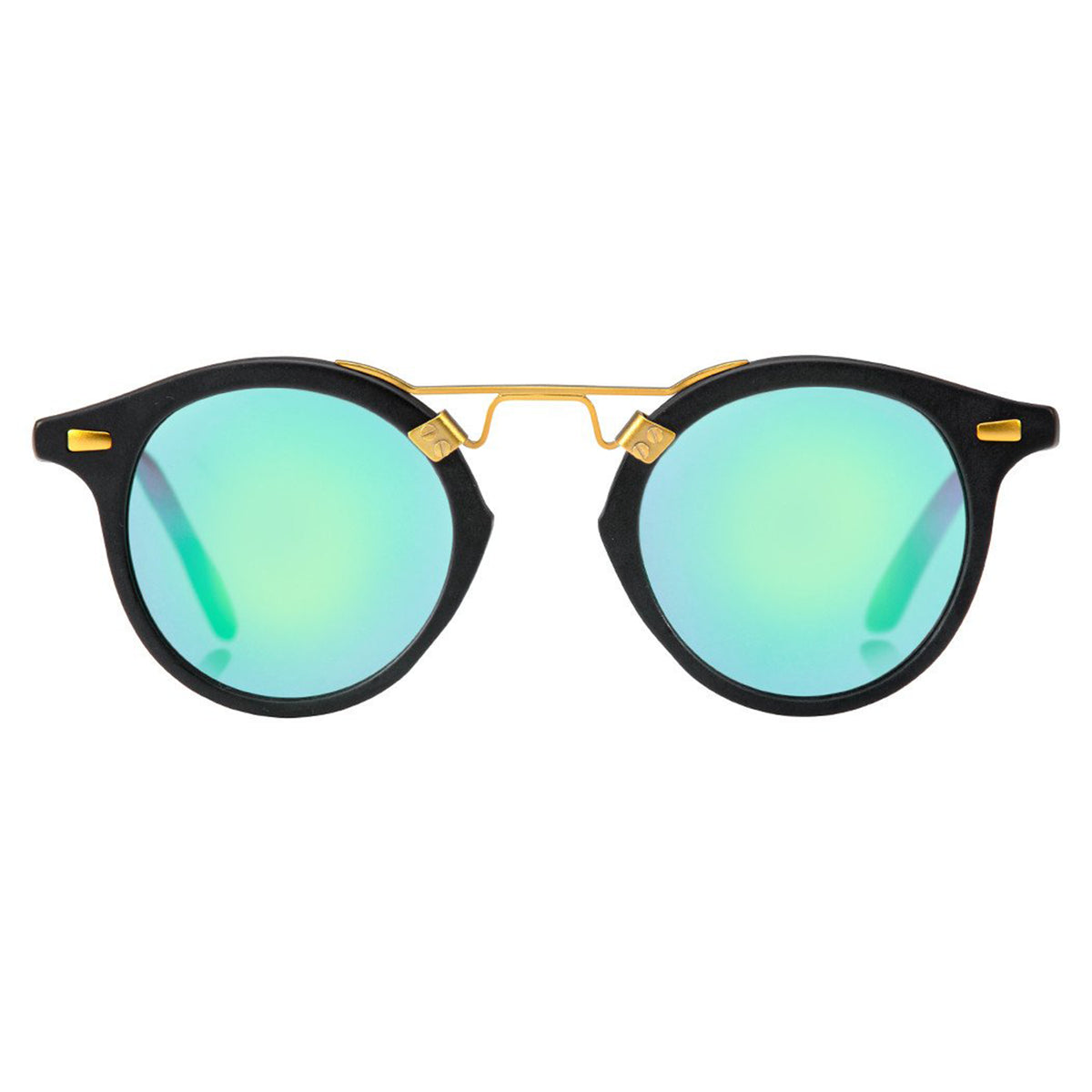 Blue and Green Sunglasses