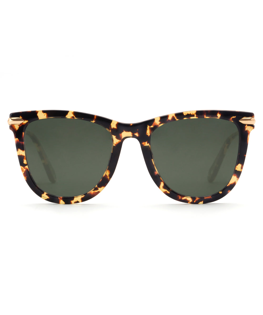SIMONE | Zulu Polarized 24K Handcrafted, Acetate Sunglasses