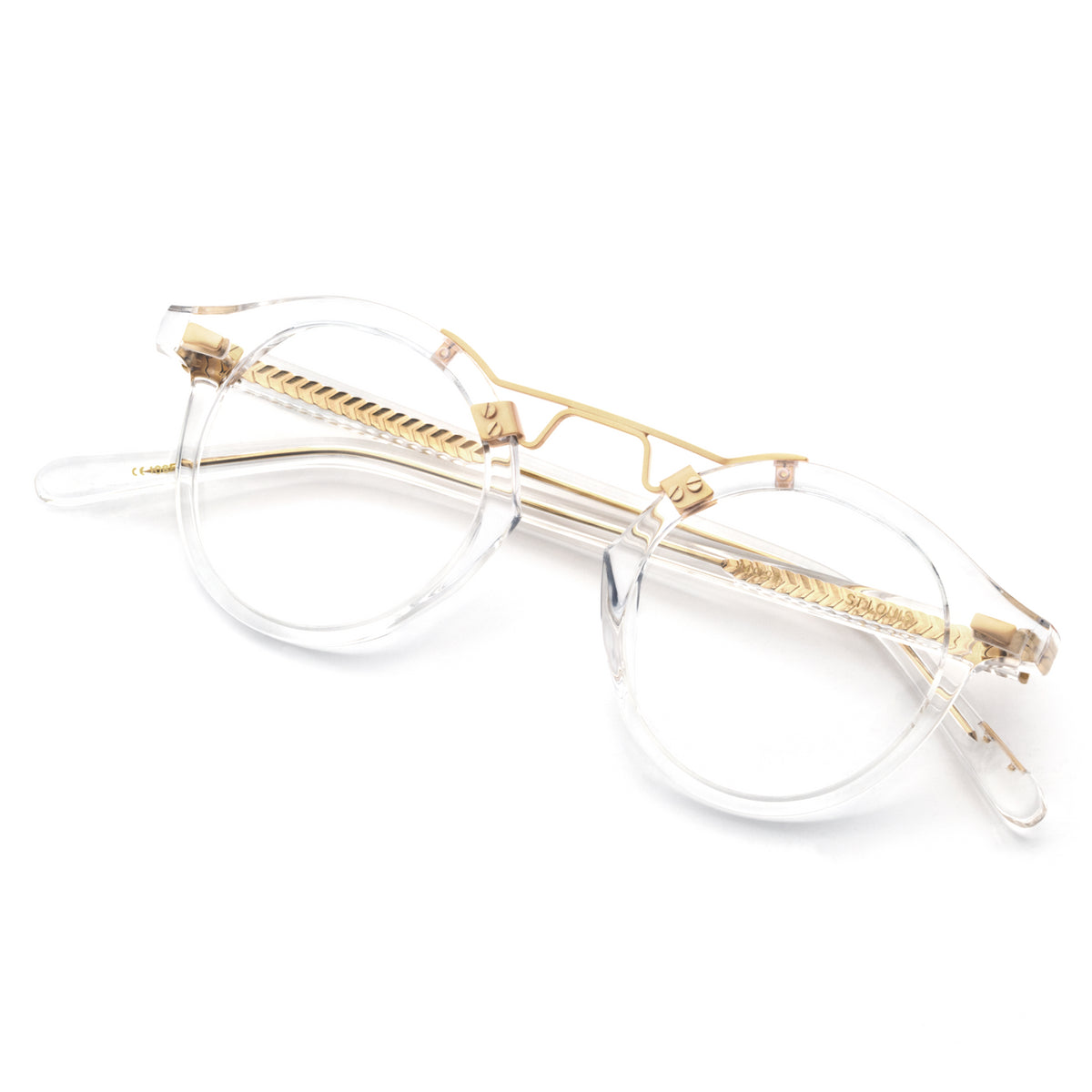 ST. LOUIS OPTICAL | Crystal 24K handcrafted acetate Optical