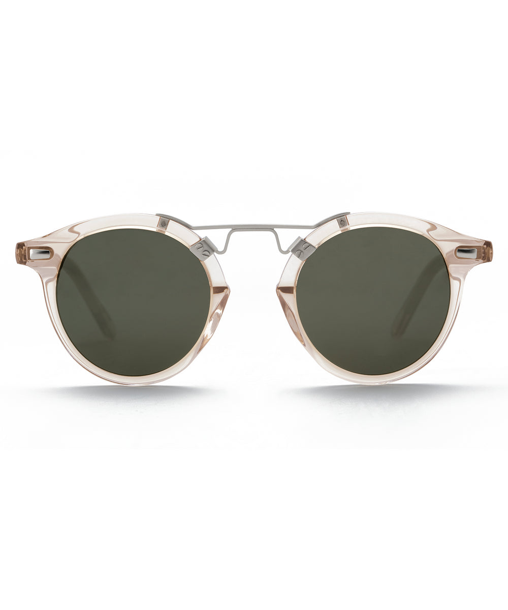 ST. LOUIS | Buff handcrafted acetate sunglasses