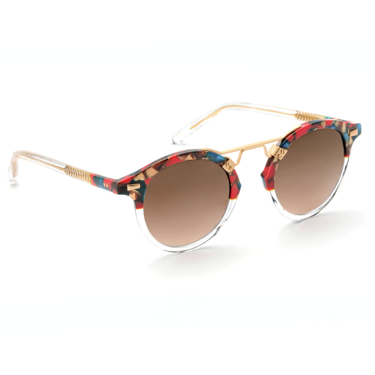 ST. LOUIS Carnevale to Crystal - handcrafted acetate eyewear
