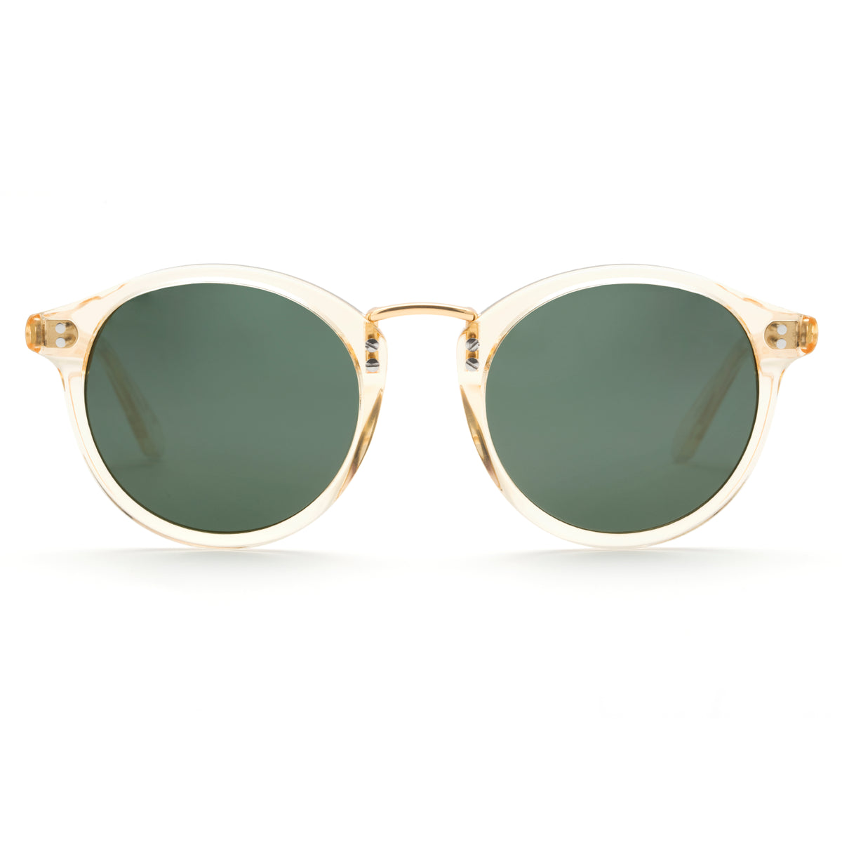 TAYLOR | Champagne Polarized 24K handcrafted acetate eyewear