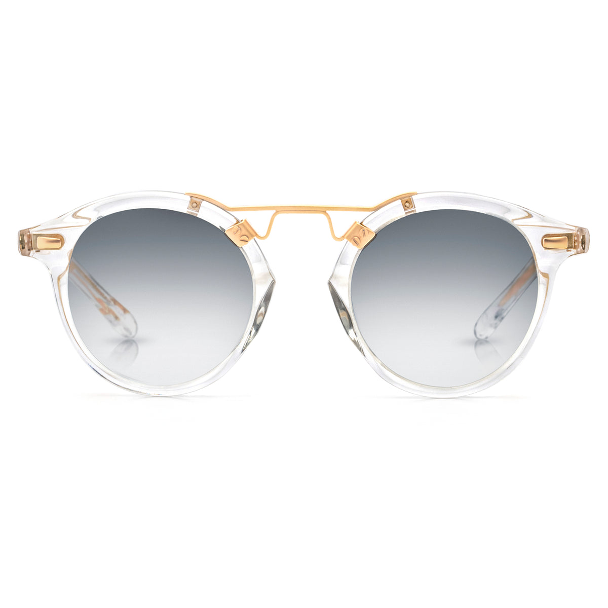 ST. LOUIS MIRRORED | Crystal 24K handcrafted acetate Sunglasses