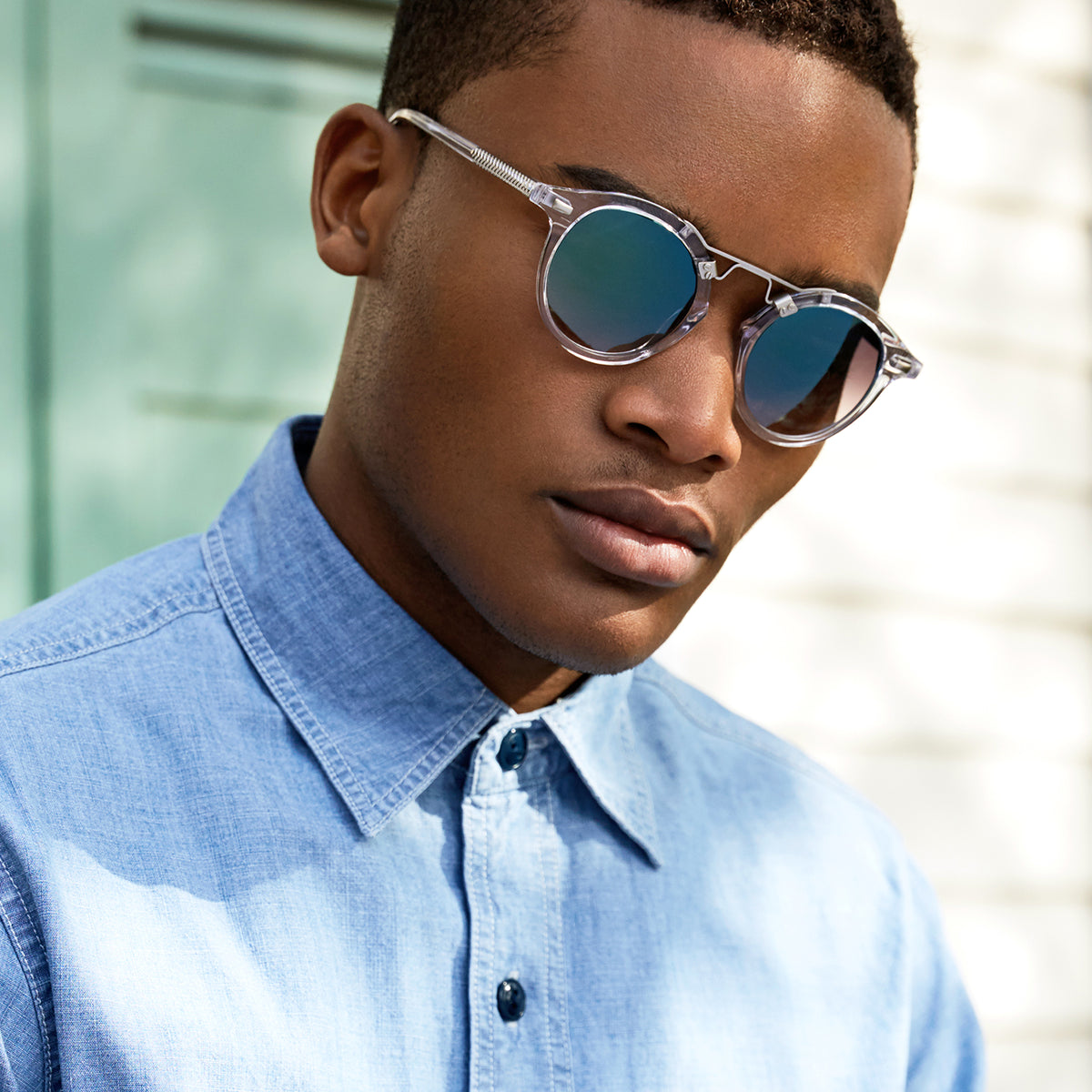 St. Louis Crystal - handcrafted acetate eyewear | Mens