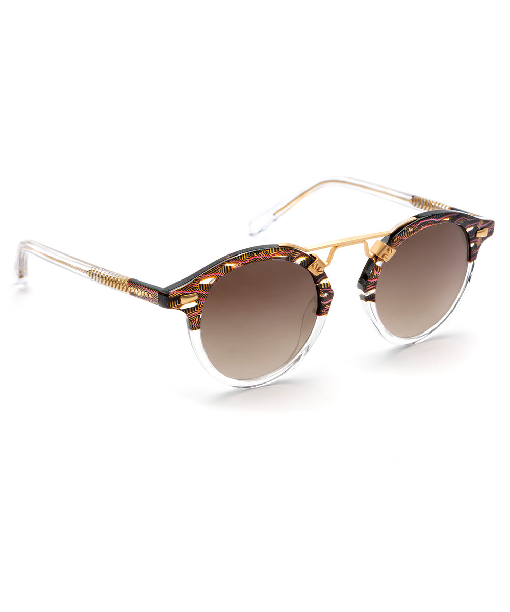 ST. LOUIS | D'Oro handcrafted acetate sunglasses