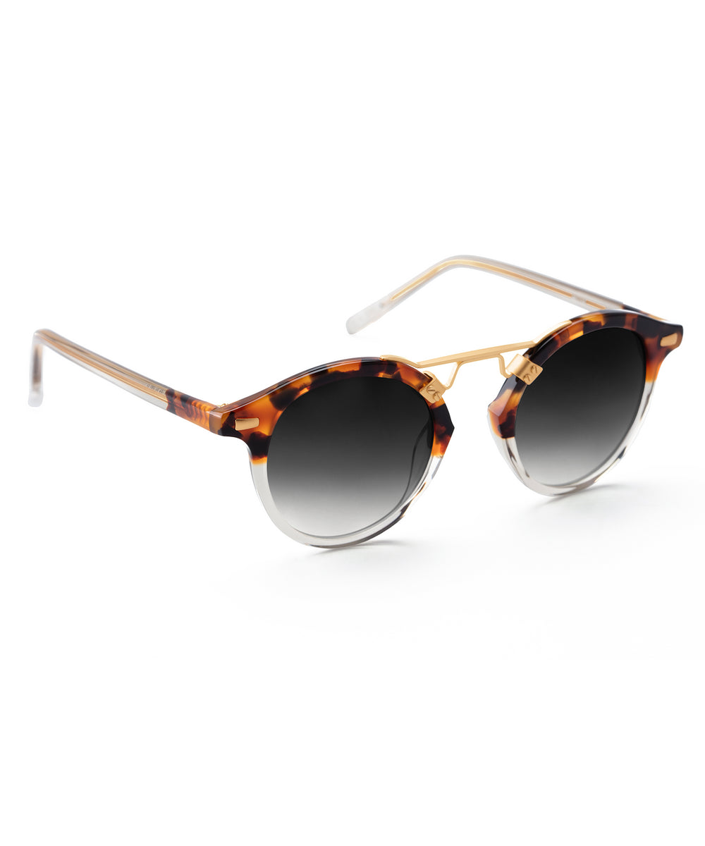 ST. LOUIS | Havana to Brume Handcrafted, Acetate Sunglasses