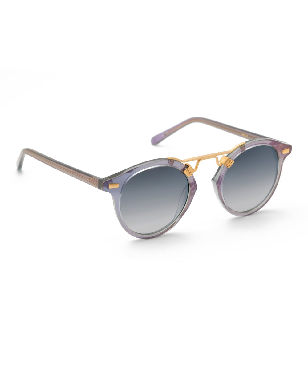 ST. LOUIS | Opal 24K handcrafted acetate Sunglasses