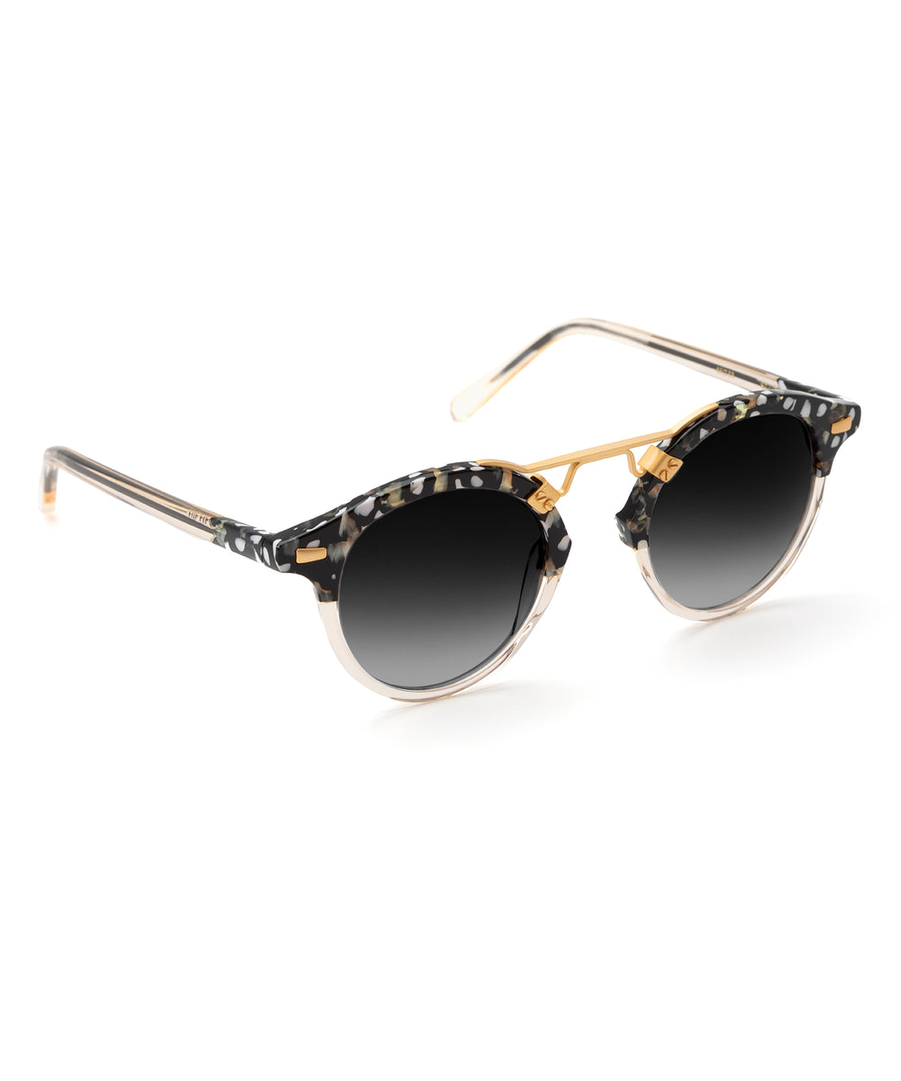 ST. LOUIS | Plume to Haze Handcrafted, acetate sunglasses