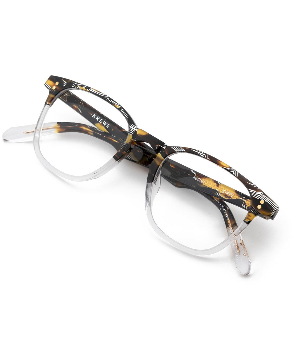 STATE | Cobra to Crystal Handcrafted, Acetate frames