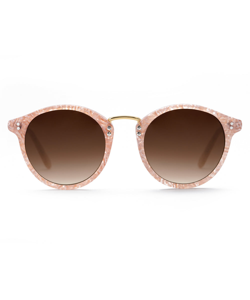 TAYLOR | Camellia 24K Handcrafted, Acetate Sunglasses