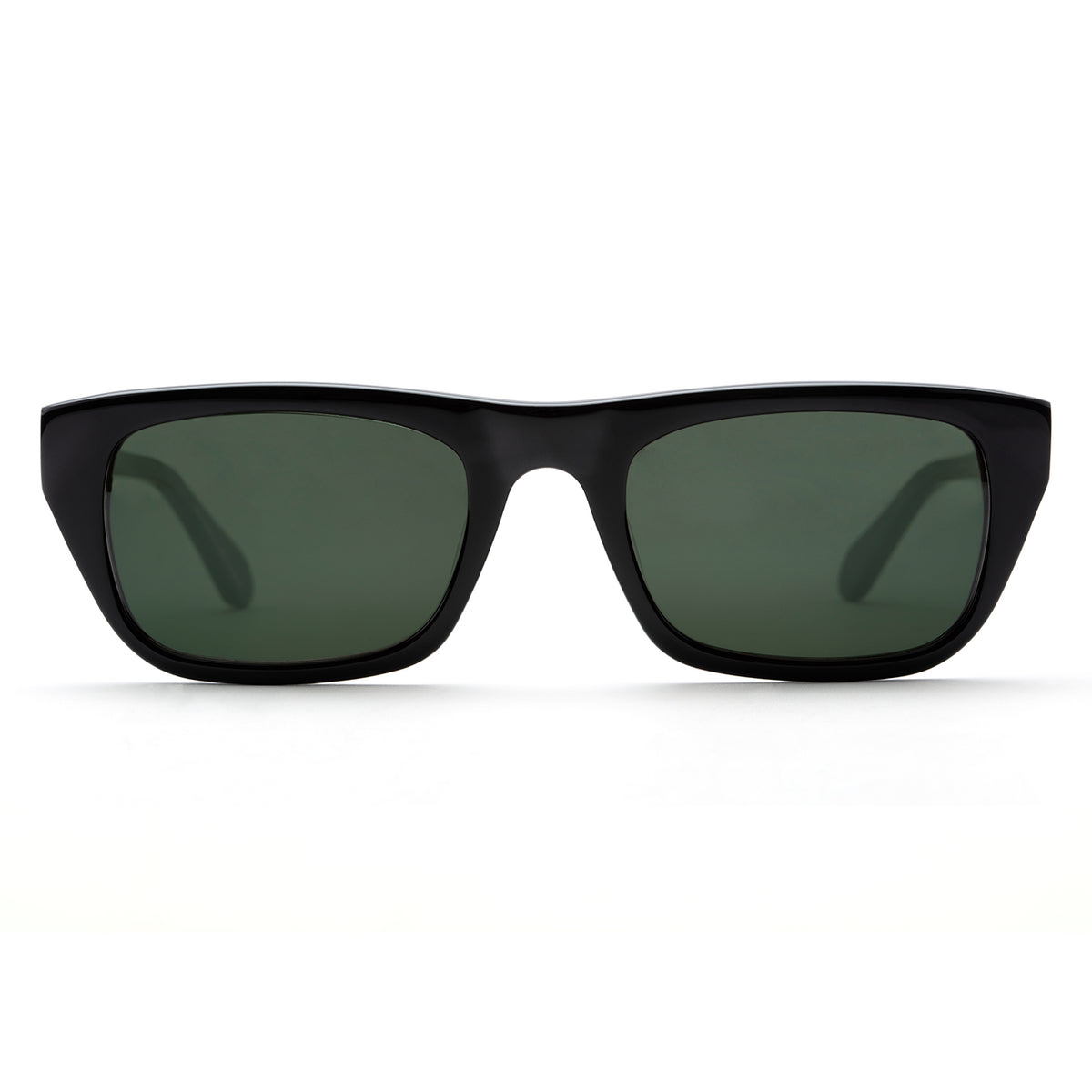 TULSA | Black handcrafted acetate sunglasses