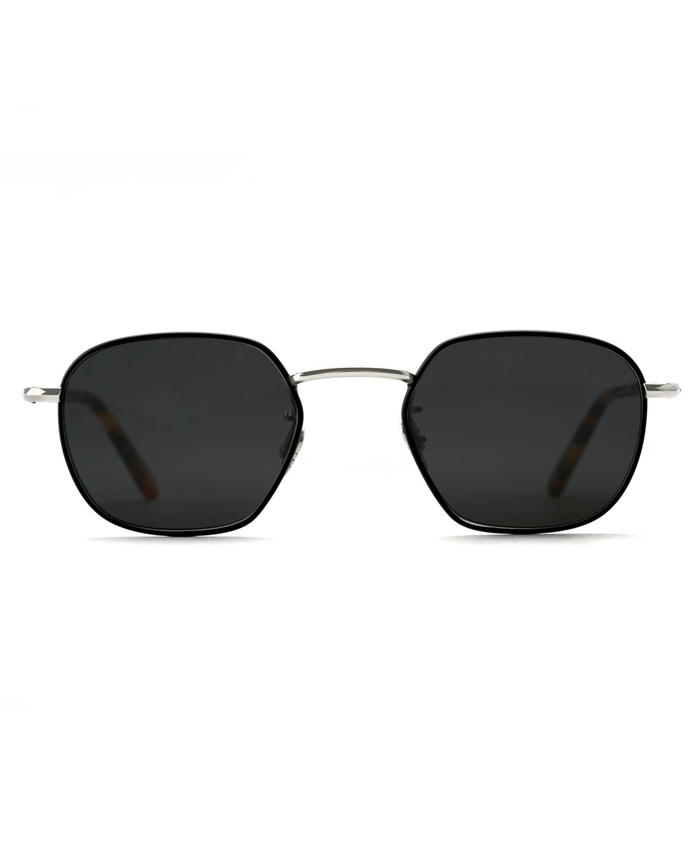 WARD | Matte Black + Havana handcrafted acetate sunglasses