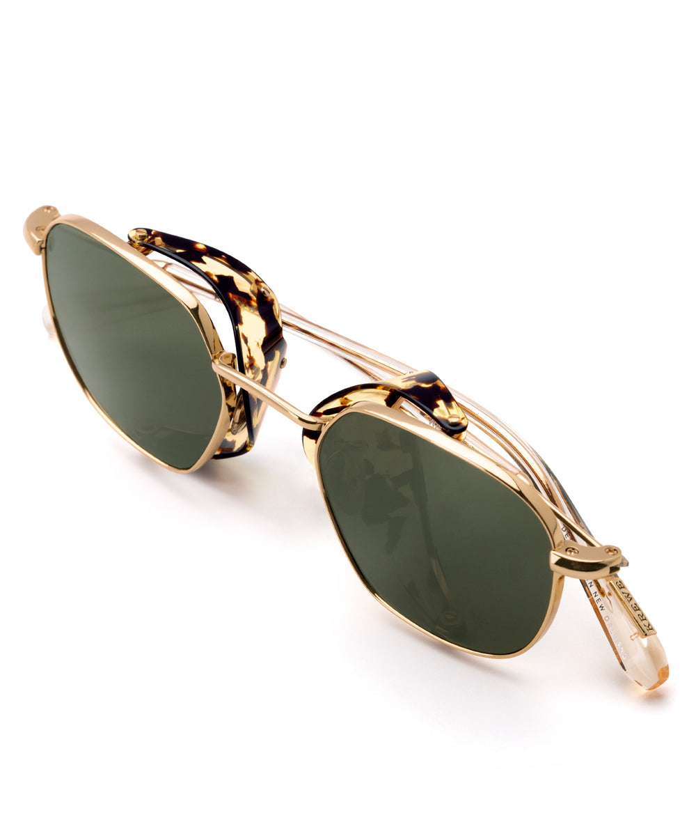 WARD BLINKER | 24K Titanium + Zulu handcrafted acetate sunglasses