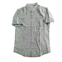 Load image into Gallery viewer, Striped button-up tee - GONE