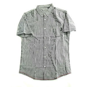 Striped button-up tee - GONE