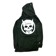 Load image into Gallery viewer, Devil Skull - Cape Hoodie - GONE
