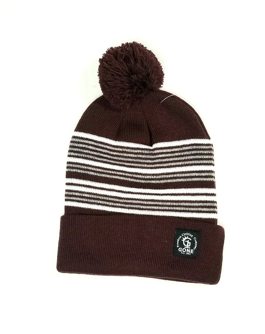 Pommed Beanie - multiple colors - GONE