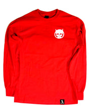Load image into Gallery viewer, Devils Skull long tee Red - GONE