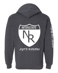 Zip-Up NYTE Hoodie - GONE