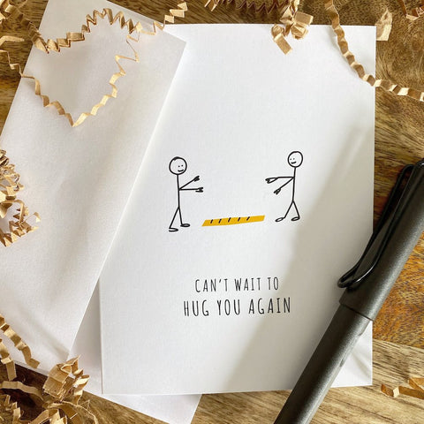 """Can't Wait to Hug You Card"" by MNiCards"