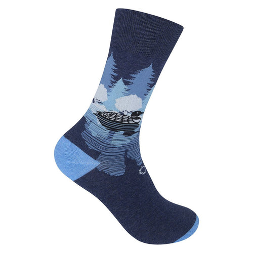 Midnight Loon Socks