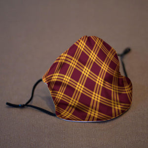 Maroon and Gold Reusable Face Mask