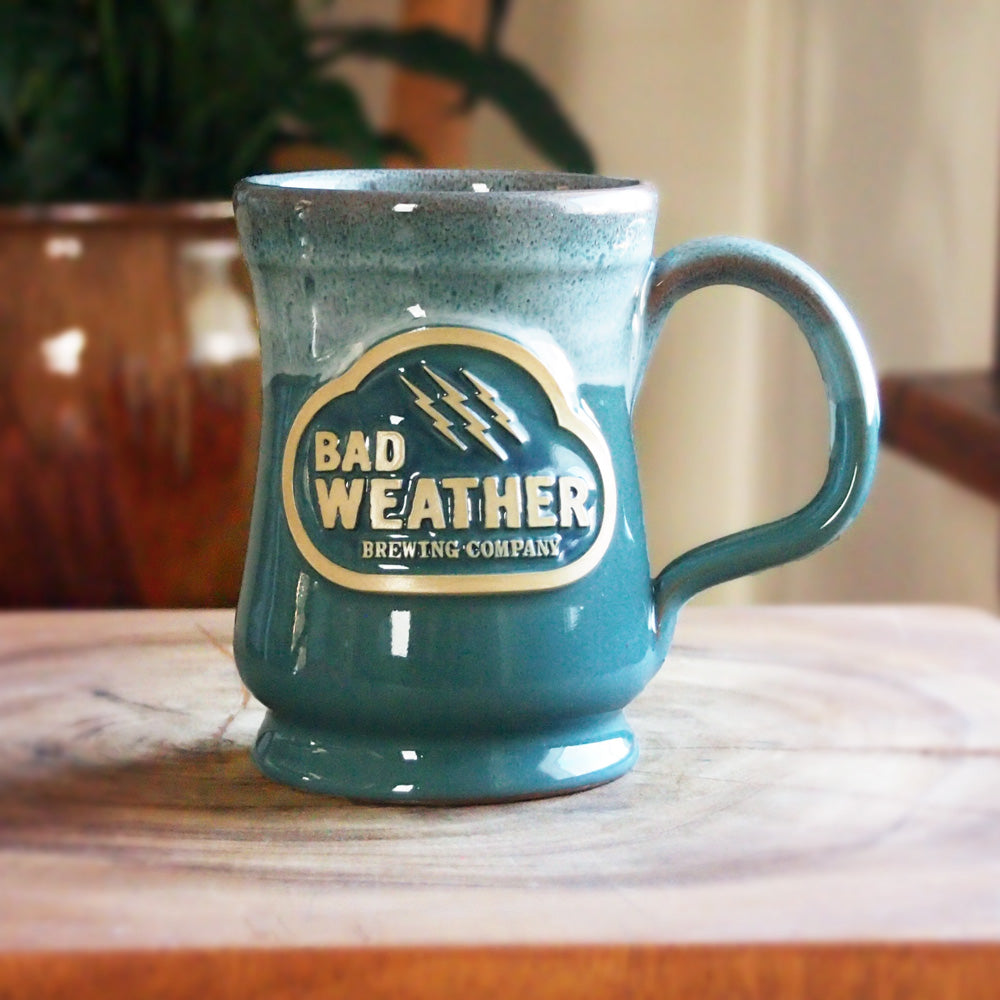 Bad Weather Mug by Deneen Pottery