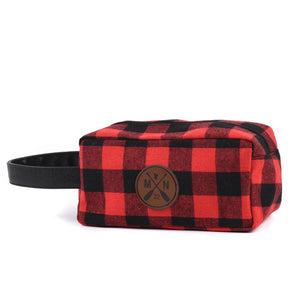 Buffalo Plaid Toiletry (Dopp) Kit