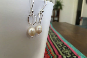 Camila Freshwater Pearl Sterling Earrings