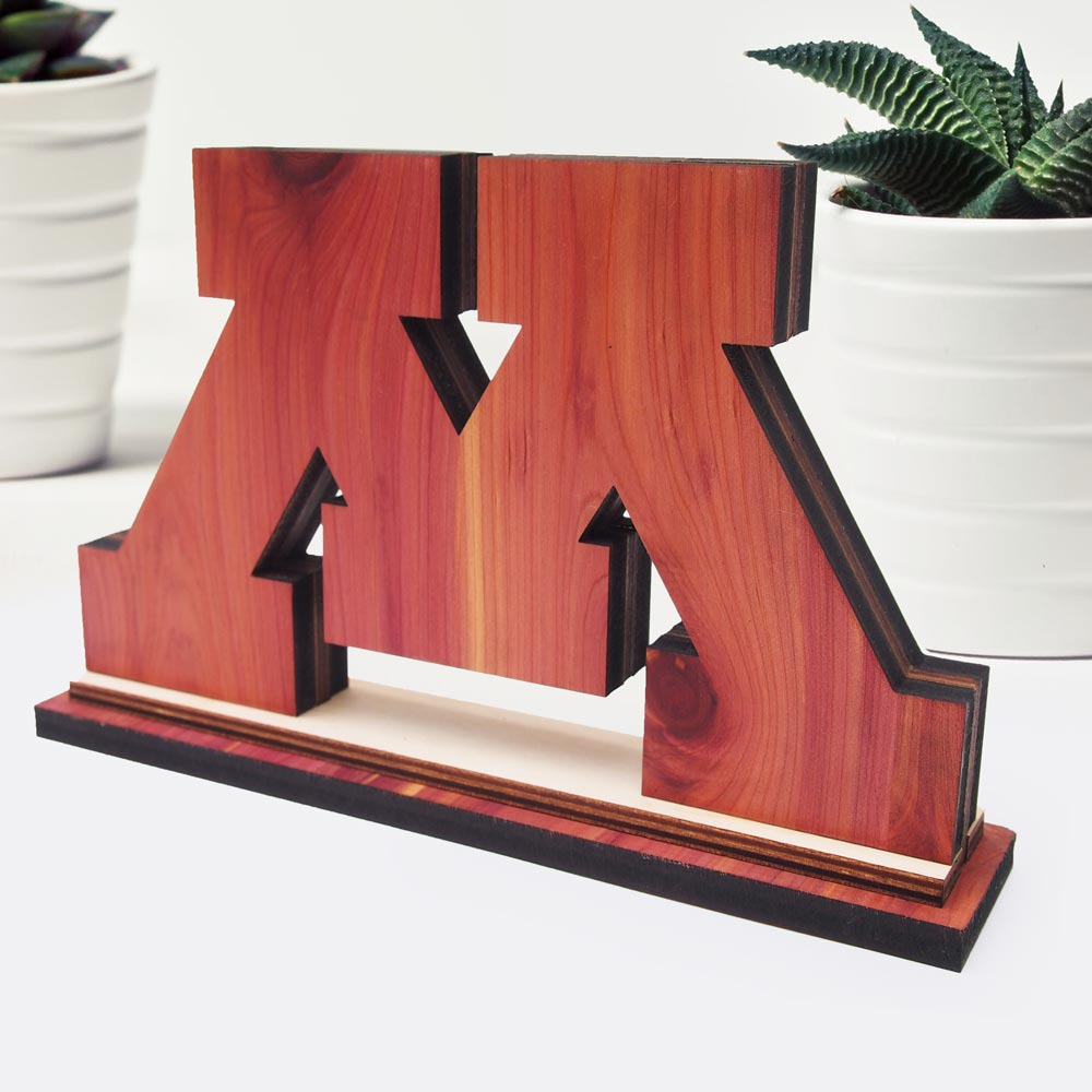 U of M Centerpiece (Custom Made)