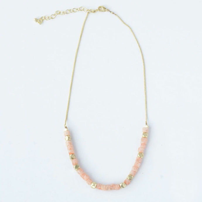 Sand Glass Necklace