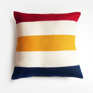 Faribault Classic Revival Stripe Wool Pillow Cover
