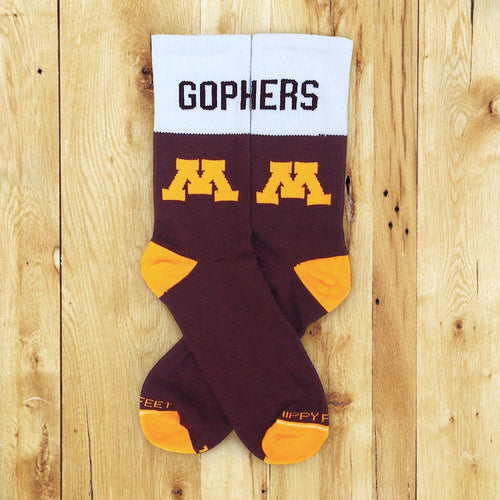 Hippy Feet Limited Edition Gopher Socks
