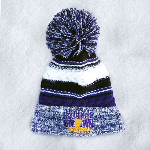 HomeGrown Purple and Gold Hat