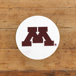 U of M Letterpress Coasters