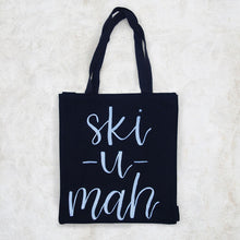 Ski-U-Mah Hand Lettered Tote Bag