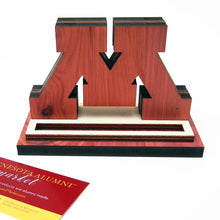 U of M Desktop Business Card Holder