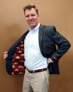 U of M Men's Suitcoat