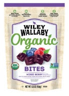 Organic Wiley Wallaby Liquorice Bites