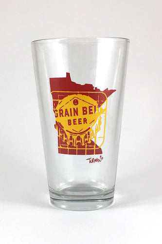 Grain Belt Pint Glass